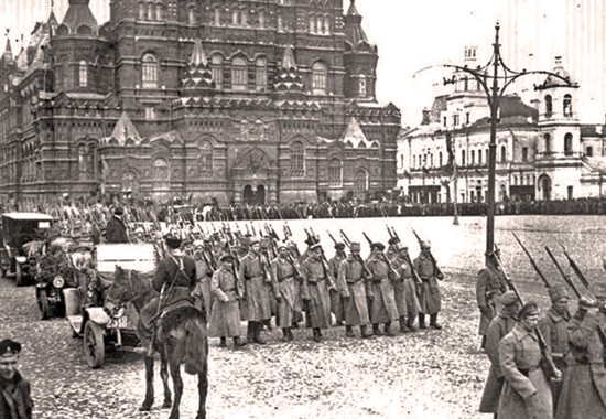 civil war russian moscow