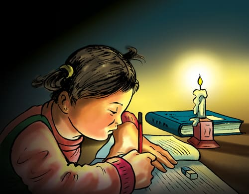 electricity problem in third world country