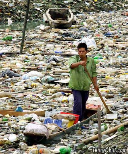 pollution problem in third world country