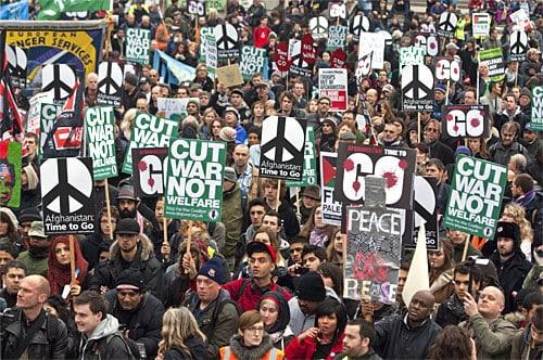 afganistan protest