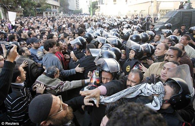 anti movement protest egypt