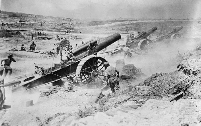 world war 1 artillery