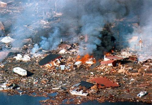 Hokkaidō earthquake, 1993