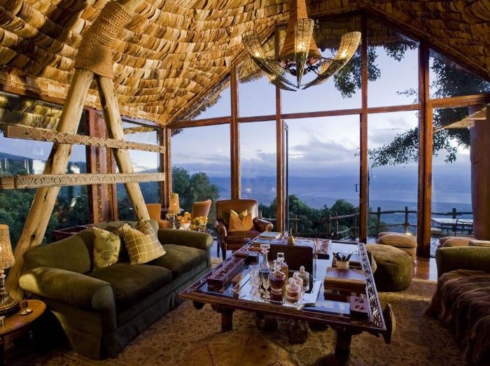 Ngorongoro Crater Lodge in Tanzania