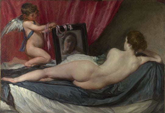 Rokeby Venus by Diego Velazquez