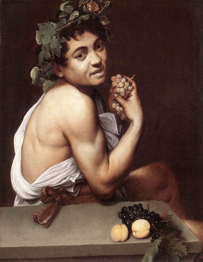 Sick Bacchus by Caravaggio