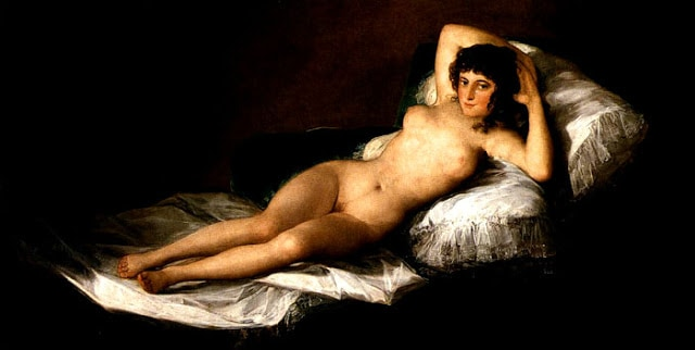 The Nude Maja by Francisco Goya