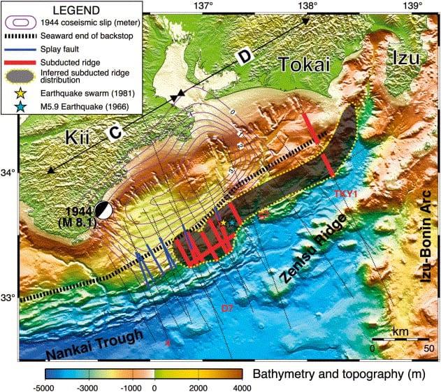 Japan Tonankai earthquake, 1944