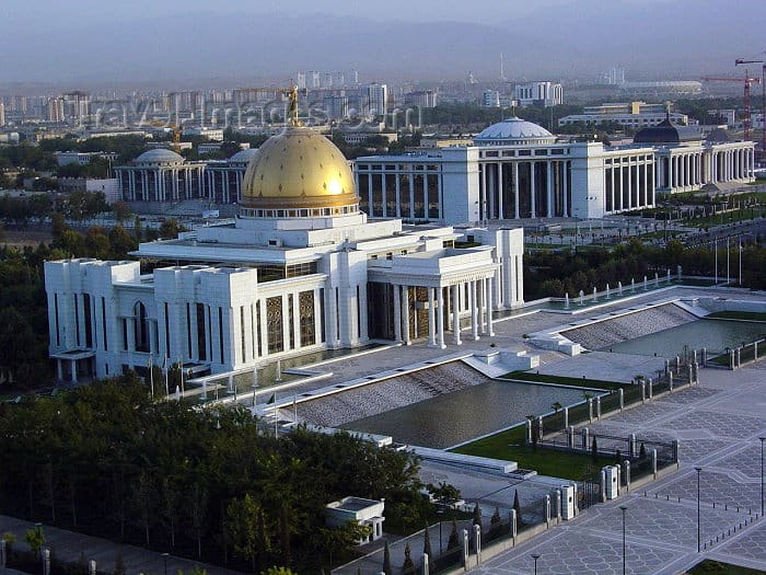 Turkmenistan least visited country