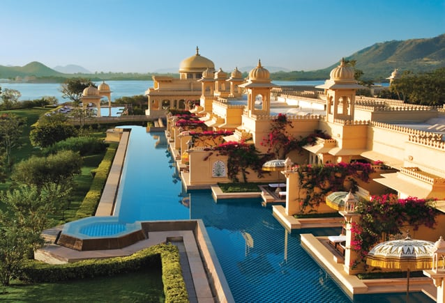 The Oberoi hotel in India
