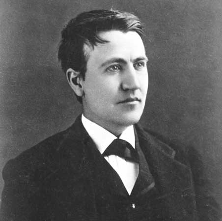Thomas Alva Edison scientist