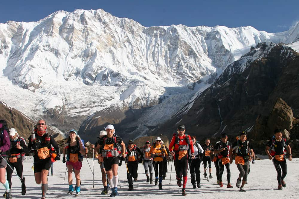 annapurna base camp travel destination in Nepal