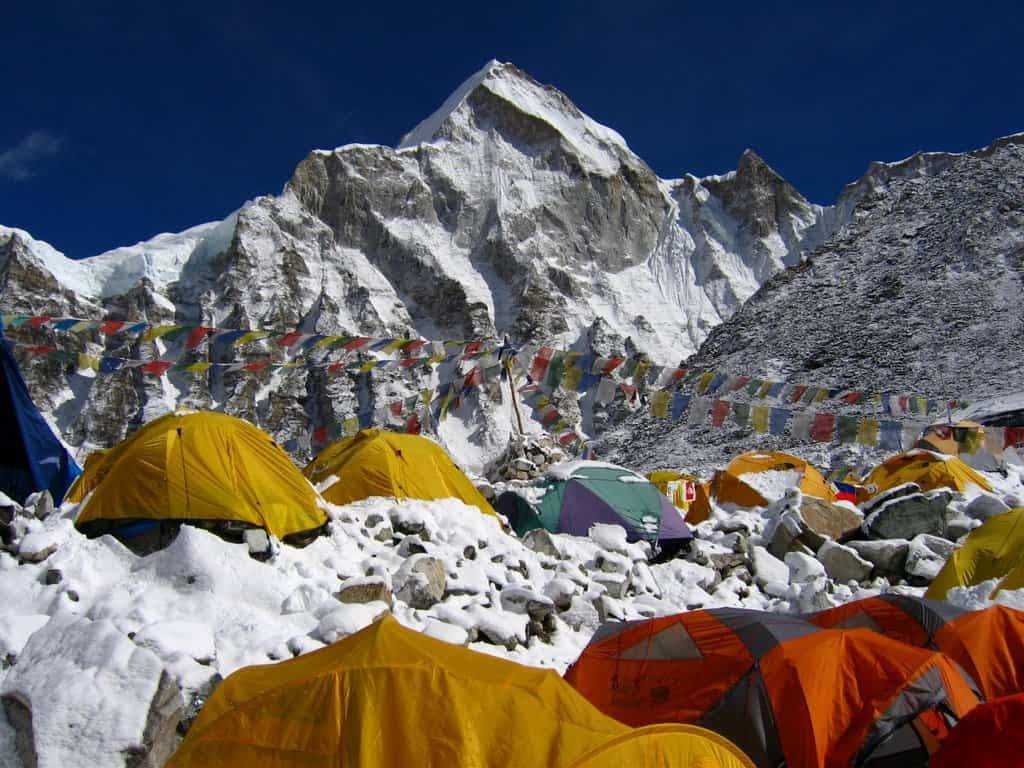 everest base camp travel destination in Nepal