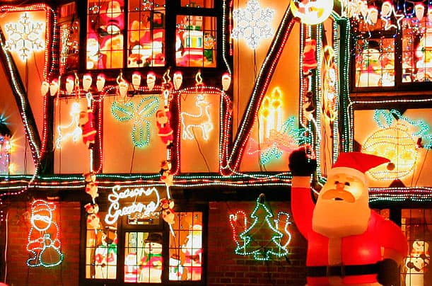 christmas light berkshire