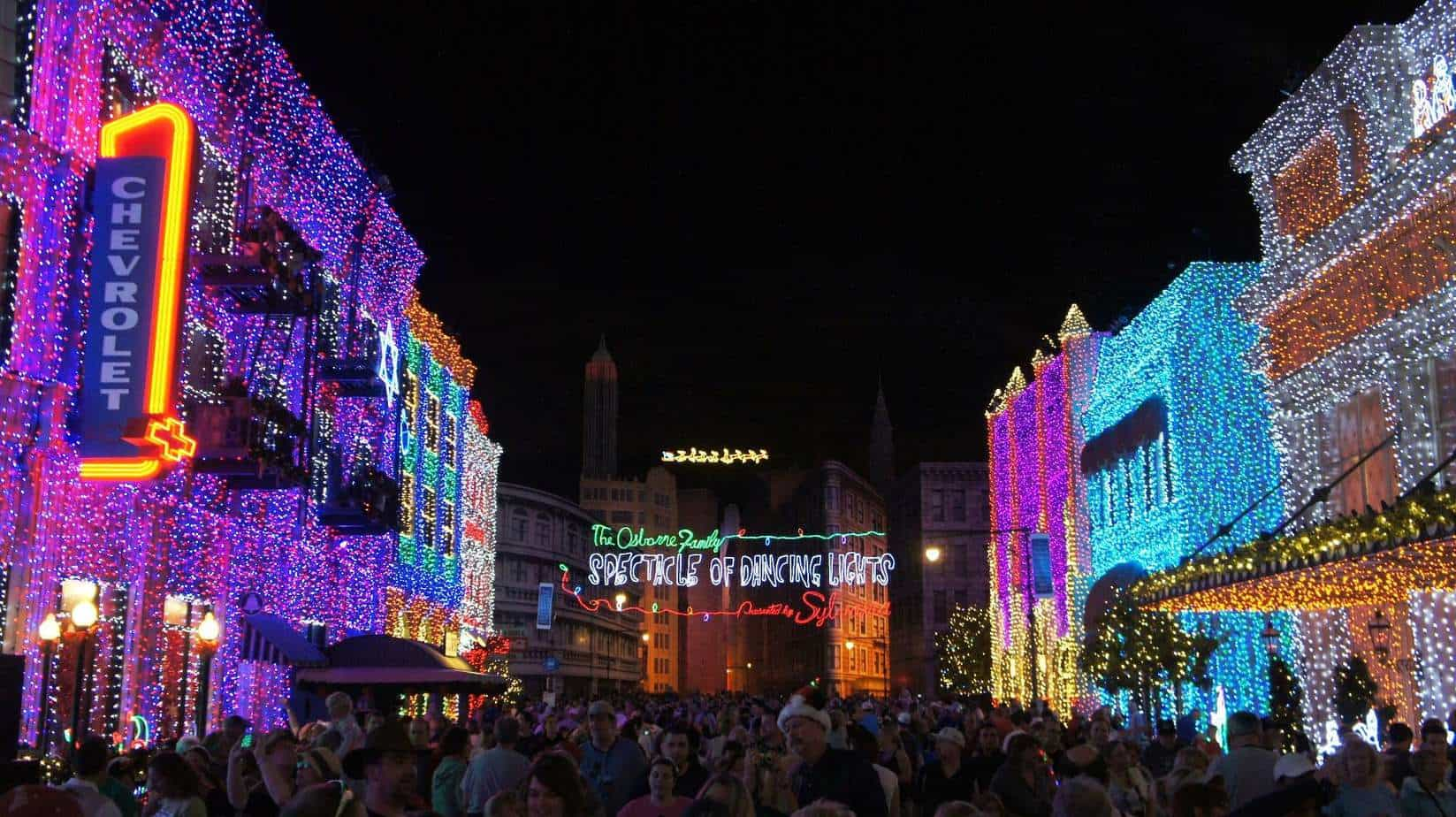 Osborne Family Spectacle of Dancing Lights christmas