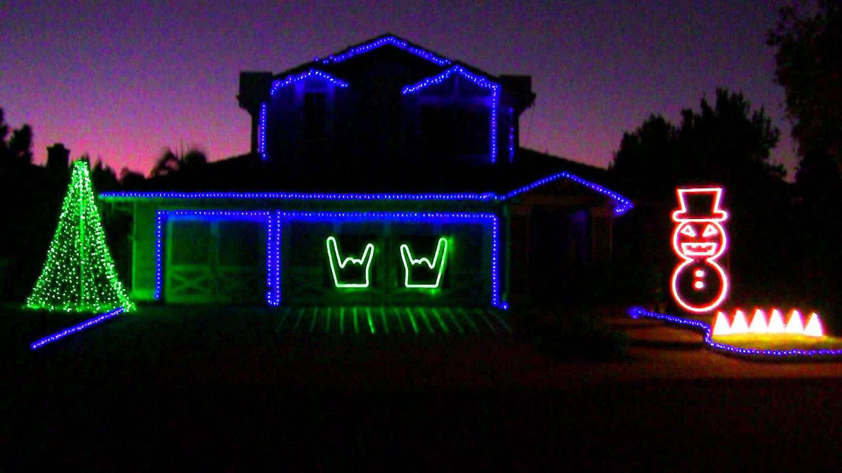 Slayer Christmas light