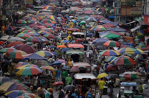 Manila City highest population