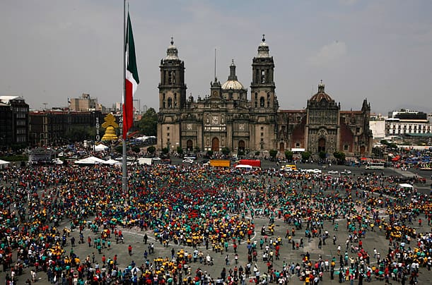 Mexico City highest population