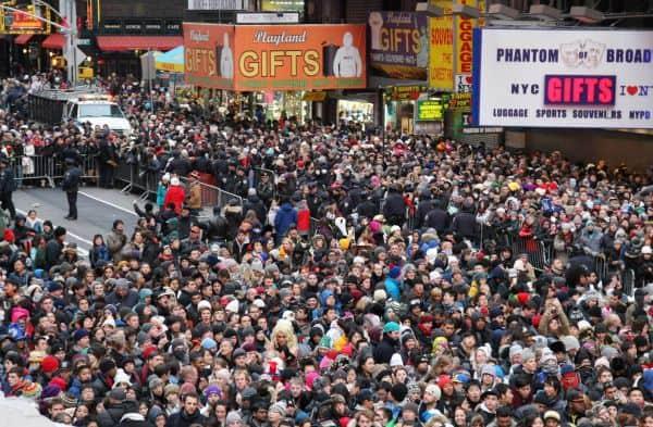 New York City highest population