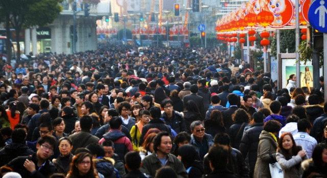 Shanghai City highest population