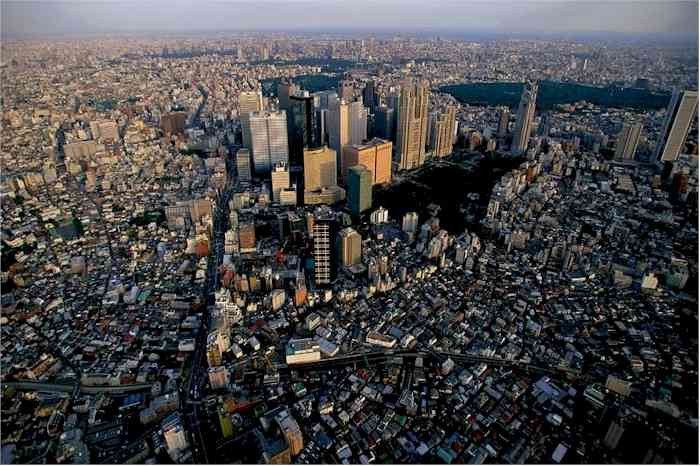 Tokyo City highest population