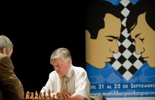 Anatoly Karpov chess player