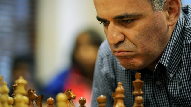 Garry Kasparov chess player