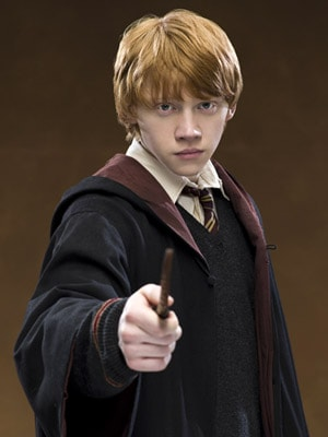 Ronald Bilius Weasley Harry Potter