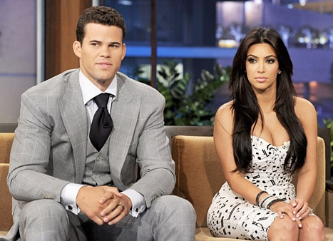 Kris Humphries and Kim Kardashian