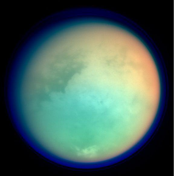 Titan second largest moon