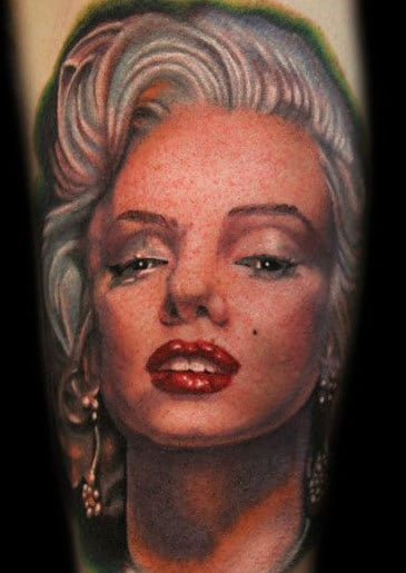 10. Portrait tattoo