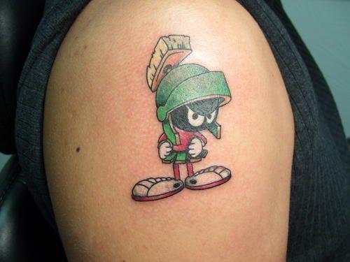 4. Character Tattoo