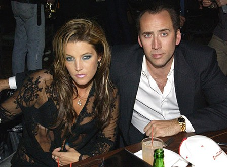 Nicolas Cage & Lisa Marie Presley