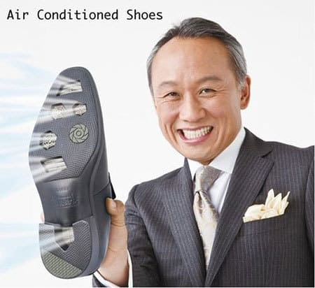 Air Conditioned Shoes