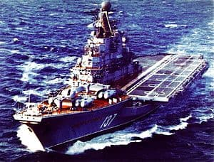 Kiev Class Warship