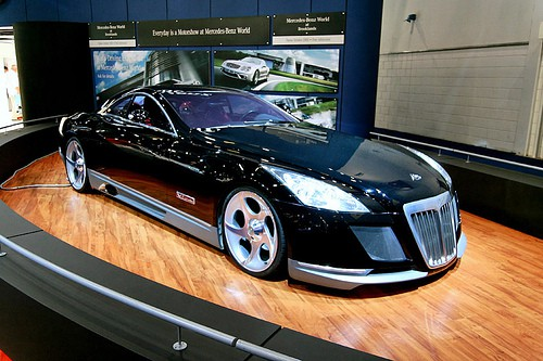 The Maybach Exelero, the most expensive car in the world