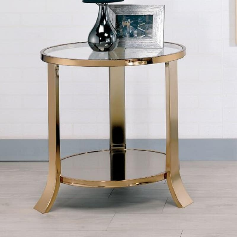 Contemporary type end table