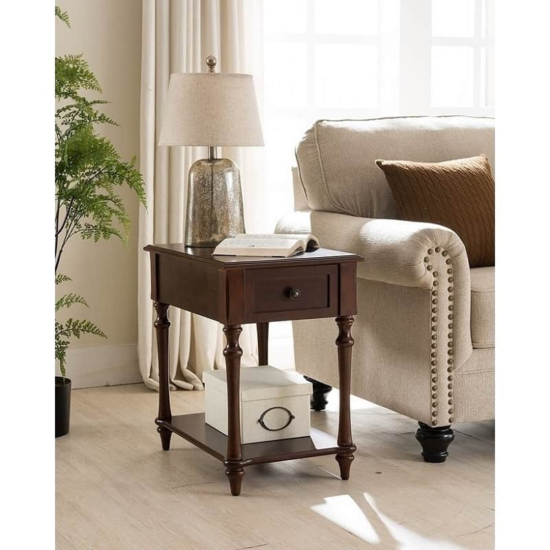 drawer type end table