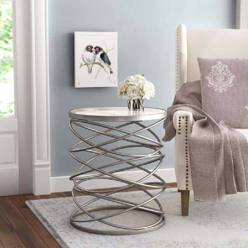 Modern type end table