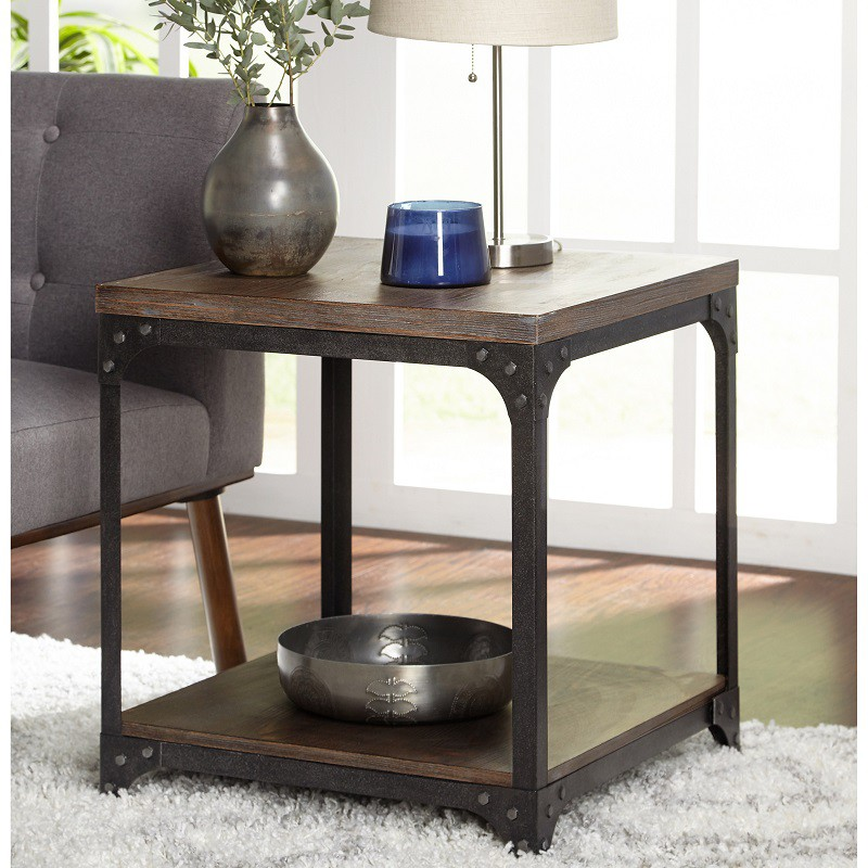 Vintage type end table