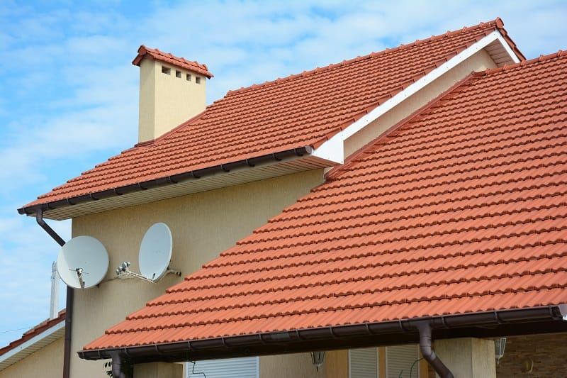 ceramic type of roof shingles