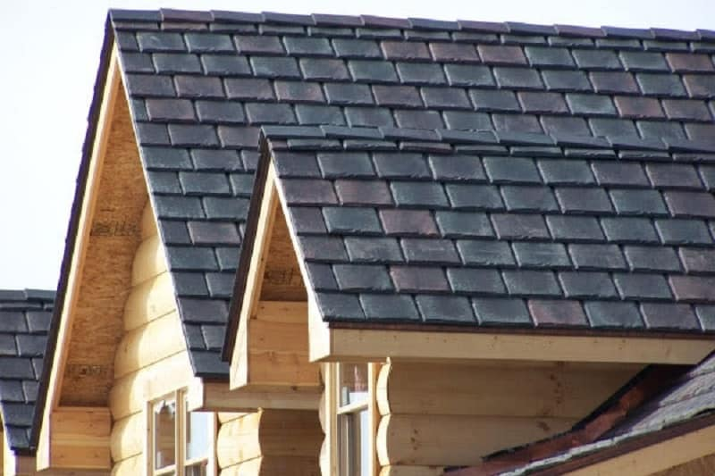 composite type of roof shingles
