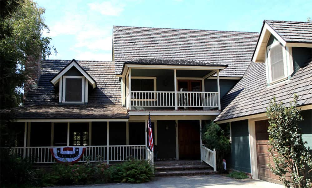 composite wood type of roof shingles