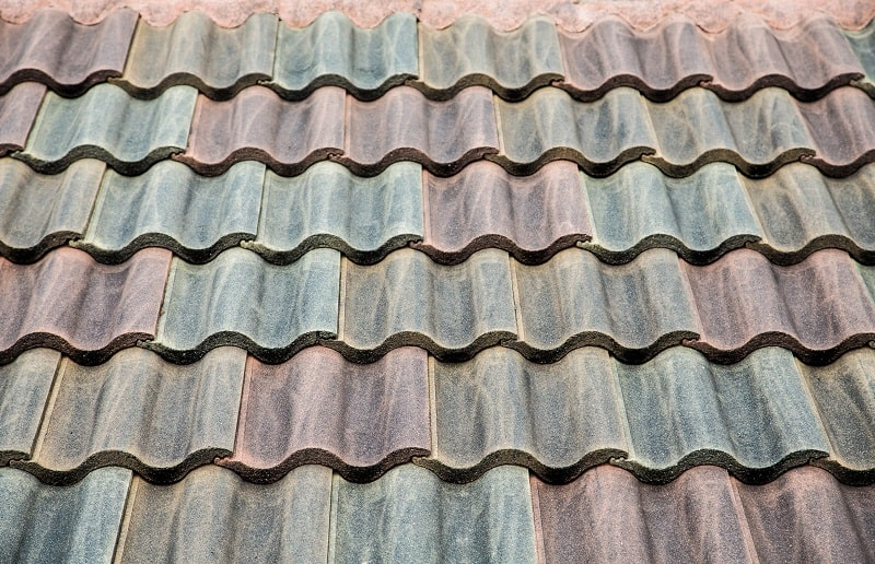 concrete type of roof shingles