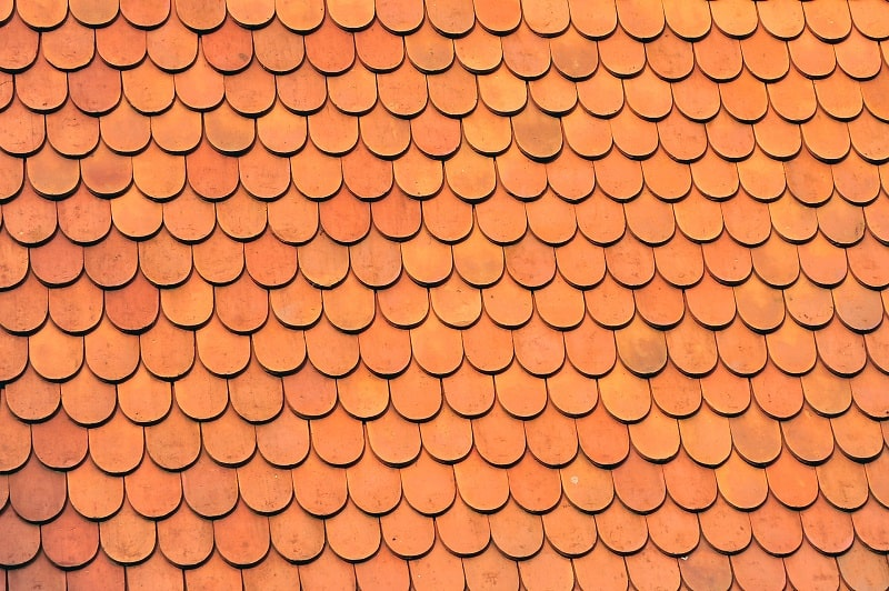 copper type of roof shingles