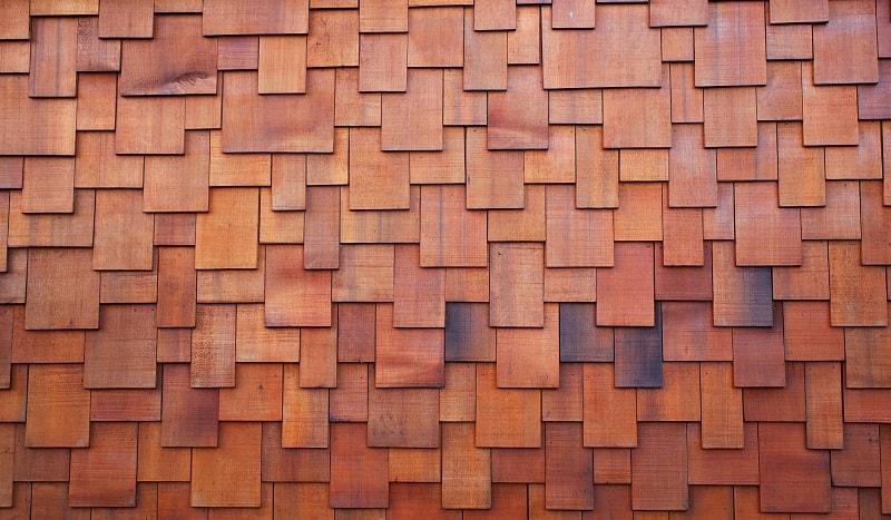 redwood type of roof shingles