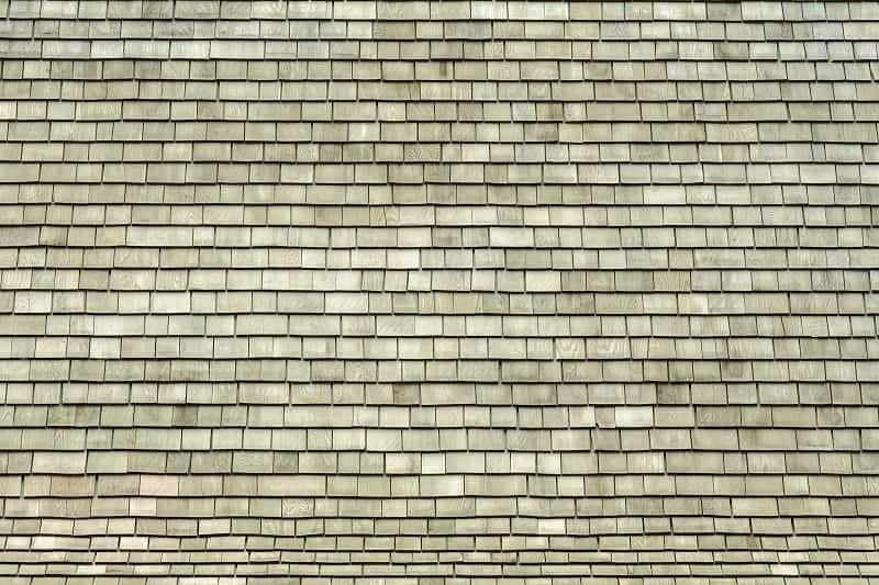 teak type of roof shingles